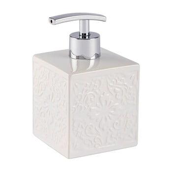 Dozator săpun lichid Wenko Cordoba, alb bonami.ro