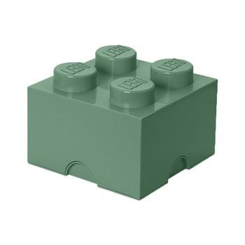 Cutie depozitare LEGO® Mini Box II, verde bonami.ro