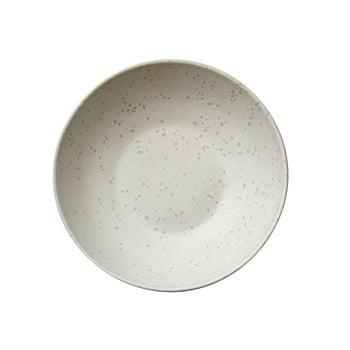 Bol din ceramică pentru paste Bitz Basics Matte Cream, ⌀ 20 cm, crem poza bonami.ro