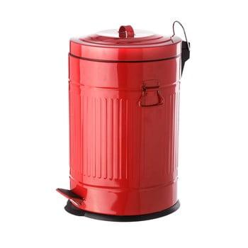 Coș metalic de gunoi Unimasa, 20 l, roșu bonami.ro