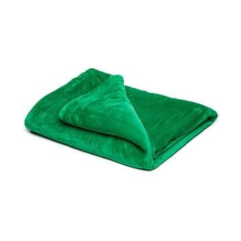 Pătură din micropluș My House, 150 x 200 cm, verde bonami.ro