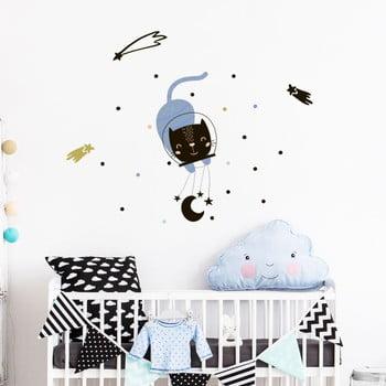 Set autocolante pentru perete Ambiance Scandinavian Animals In The Stars bonami.ro