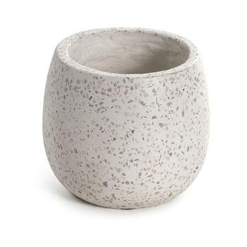 Ghiveci La Forma Braydon, înălțime 15 cm, alb bonami.ro