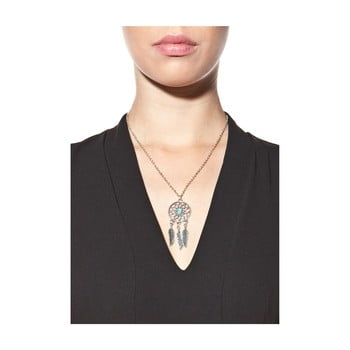 Colier damă NOMA Crystal, argintiu poza bonami.ro
