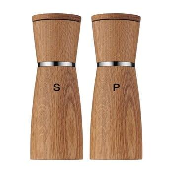 Set 2 râșnițe din ceramică pentru sare și piper WMF Nature bonami.ro