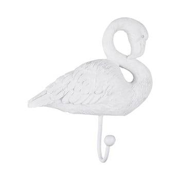 Cuier de perete Leitmotiv Flamingo, alb bonami.ro