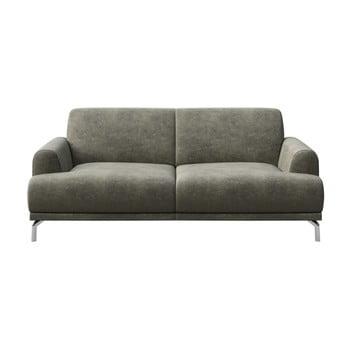 Canapea cu 2 locuri MESONICA Puzo, gri imagine