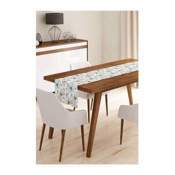 Napron din microfibră pentru masă Minimalist Cushion Covers Soft Butterflies, 45x145cm bonami.ro