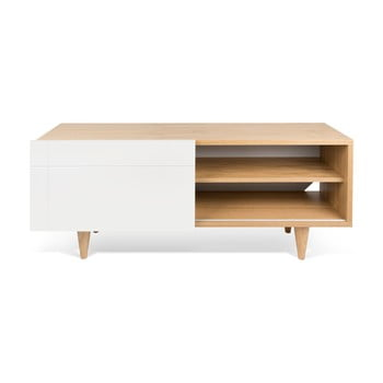 Comodă TV TemaHome Cruz Pure White/Oak imagine