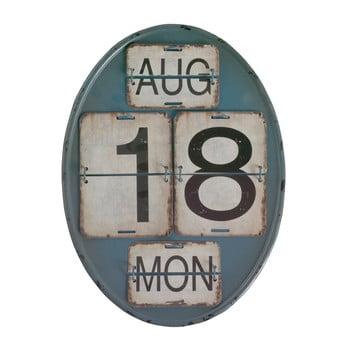 Calendar de perete Geese Time, albastru poza bonami.ro