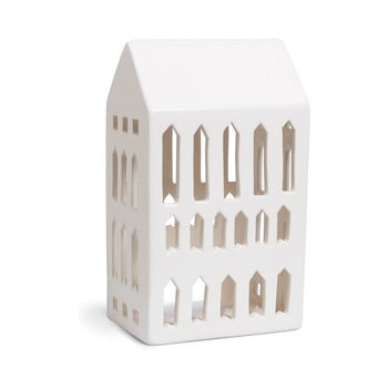 Sfeșnic din ceramică Kähler Design Urbania Lighthouse Church, alb poza bonami.ro