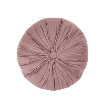Pernă decorativă din catifea Tiseco Home Studio Velvet,ø38cm, roz deschis bonami.ro