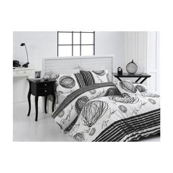 Lenjerie de pat din bumbac ranforce Nazenin Home Kipling, 140 x 200 cm bonami.ro