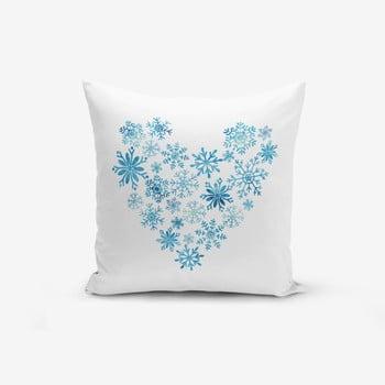 Față de pernă cu amestec de bumbac Minimalist Cushion Covers Heart, 45 x 45 cm poza bonami.ro