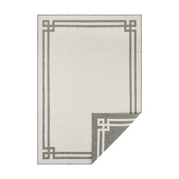 Covor adecvat pentru exterior Bougari Manito, 200 x 290 cm, gri-crem imagine