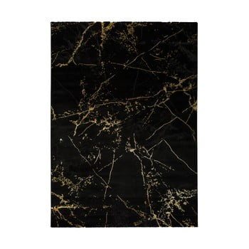 Covor Universal Gold Marble, 160 x 230 cm, negru imagine
