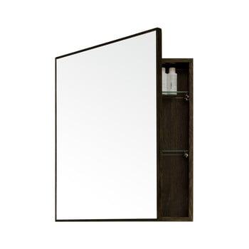 Dulap de perete cu oglindă Wireworks Mezza Dark Wireworks, 45 x 55 cm bonami.ro
