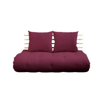 Canapea variabilă Karup Design Shin Sano Natur/Bordeaux imagine