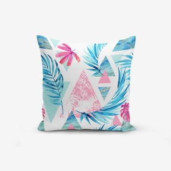 Față de pernă inimalist Cushion Covers Palm Geometric Şekiller, 45 x 45 cm bonami.ro