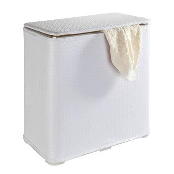 Coș pliabil de rufe Wenko Wanda, 65 l, alb poza bonami.ro