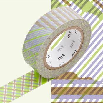 Bandă decorativă Washi MT Masking Tape Yves, rolă 10 m bonami.ro