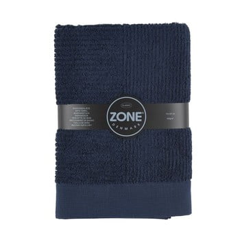 Prosop Zone Classic, 70 x 140 cm, albastru închis bonami.ro
