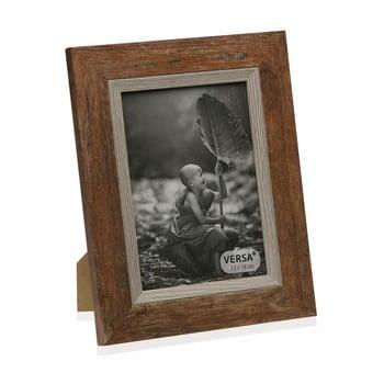 Ramă foto din lemn pentru fotografie Versa Madera Marron, 20x25cm poza bonami.ro