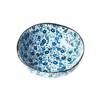 Bol din ceramică MIJ Daisy, ø11cm, alb - albastru bonami.ro