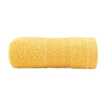 Prosop din bumbac Sunny, 30 x 50 cm, galben bonami.ro