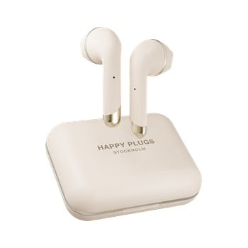 Căști wireless Happy Plugs Air 1 Plus, bej bonami.ro