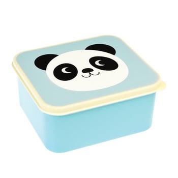 Recipient pentru gustare Rex London Miko The Panda, albastru poza bonami.ro