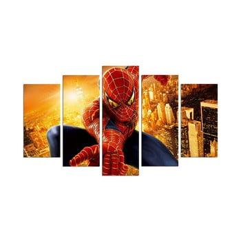 Tablou din 5 piese Spider Man poza bonami.ro