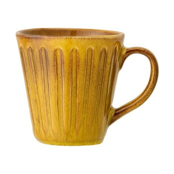 Cană din gresie ceramică Bloomingville Cala,500ml, galben poza bonami.ro