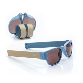 Ochelari de soare pliabili InnovaGoods Sunfold AC5, albastru poza bonami.ro