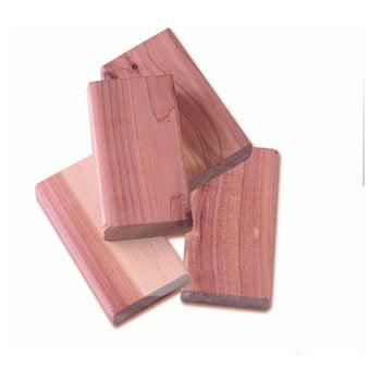 Set 4 piese din lemn de cedru pentru dulap Compactor poza bonami.ro
