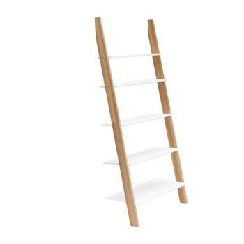 Raft în formă de scară Ragaba ASHME, lățime 85 cm, alb bonami.ro