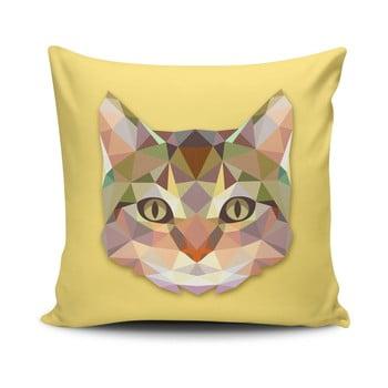 Față de pernă cu adaos de bumbac Cushion Love Cat, 45 x 45 cm bonami.ro