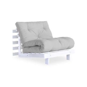 Fotoliu extensibil Karup Design Roots White/Light Grey imagine