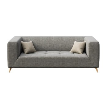 Canapea cu 3 locuri MESONICA Toro, gri bonami.ro