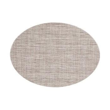 Suport pentru farfurie Tiseco Home Studio Oval, 46 x 33 cm, maro gri poza bonami.ro