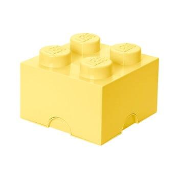 Cutie depozitare LEGO®, galben deschis bonami.ro