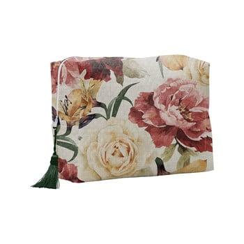 Geantă cosmetică Linen Couture Roses poza bonami.ro