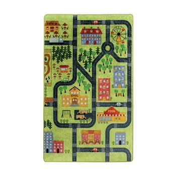 Covor copii Green Small Town, 200 x 290 cm imagine