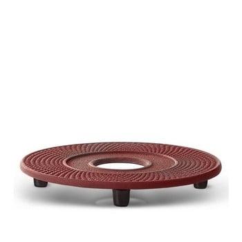 Suport din fontă pentru ceainic Bredemeijer Xilin, ⌀ 13,4 cm, roșu bonami.ro