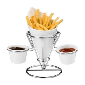 Suport pentru cartofi prăjiți și sosieră Premier Housewares Hollywood bonami.ro