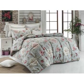 Cuvertură matlasată pentru pat matrimonial Sandiego Mint, 195x215 poza bonami.ro