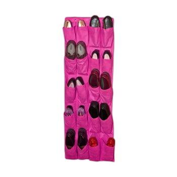 Organizator suspendat pentru încălțăminte JOCCA Twenty, 135 x 48 cm, roz poza bonami.ro