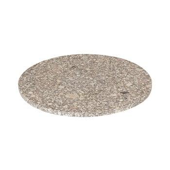Platou / tocător servire Blomus Stone, ø 30 cm, bej bonami.ro