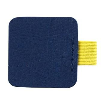 Suport pix pentru agendă Busy B Loop, albastru-glben poza bonami.ro