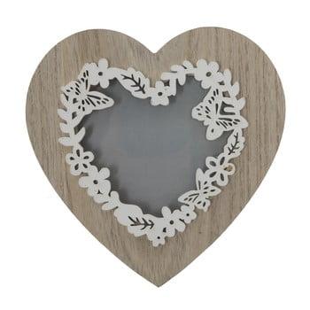 Ramă foto Mauro Ferreti Lolly, 9 x 9 cm, formă de inimă poza bonami.ro